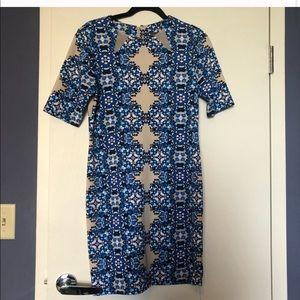Nordstrom midi dress TAYLOR brand